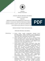 05. UU No.16 Tahun 2009 - Perubahan Keempat Atas UU No.6 Tahun 1983