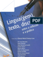 Lingua(Gem), Texto, Discurso - Entre a Reflexao e a Pratica - Vol