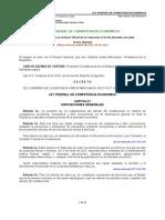 Ley Federal de La Competencia Economica d Mexicano!