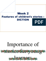 Features of children's stories