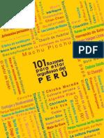 101 Razones Amar El Peru