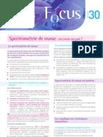 30 Focus Spectrometrie de Masse