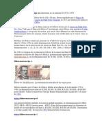 Los Billetes Mexicanos