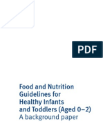 Food and Nutrition Guidelines 0 2 May2011