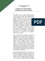 Castoriadis (Reflec Sobre Racismo)