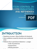 Pollution Control in Refineries and Fertilizer Industries