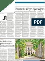 Perfumes inspirados em Borges e paisagens. Fueguia 1833, Julian Bedel. Diario Valor. Brasil