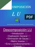Descomposicion en LU