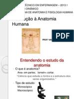 Introdução a Anatomia Humana enferm.