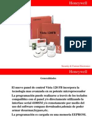 manual de programacion vista 128fb en espaol
