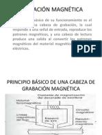 diapositivas GRABACIÓN MAGNÉTICA