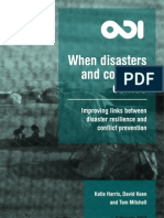 When Disasters and Conflicts Collide