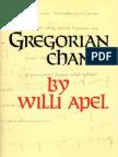 139980119 Willi Apel Gregorian Chant