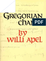139980119 Willi Apel Gregorian Chant