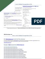 Numerical Methods VBA Cholesky Decomposition