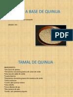 Recetas a Base de Quinua