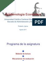 01 y 02 La Logica Del Observador Epistemologia Economica