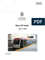 West LRT Audit