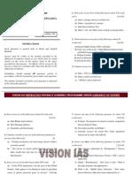 General Studies Mains 2009 Paper II Vision Ias1