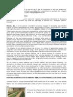 Sea-santa Elena Agreement, Jatropha Curcas