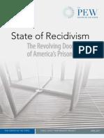 Pew State of Recidivism