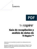 TI-Nspire Data Collection Guidebook ES