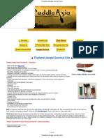 Thailand Jungle Survival Kits
