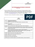 Listado Legislación en Riesgos laborales- actualizado a Julio 2013- Laborando