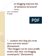 how-can-blogging-improve-the-quality-of-sentence-structure-100624110708-phpapp01