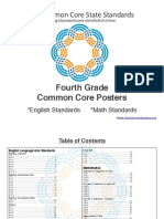 Fourth Grade Common Core Posters