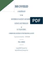 H.P. Blavatsky - Isis Unveiled v I