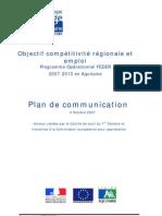 Plan Communication AquitaineFEDERv04102007