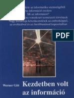 Gitt, Werner - Kezdetben Volt Az Informacio_Fuggelek