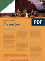 Dreamtime Aboriginal Culture Fact Sheet