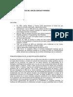 INVESTIGACIÓN BIOLÓGICA DE LA PATERNIDAD