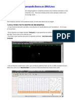 Esteganografia Basica en GNU-LINUX
