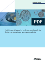 Example of Use Environment Diatom Preparation