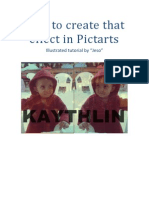How to create that effect in Pictarts.pdf