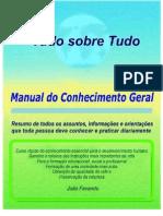 Livro TudoSobreTudo - Manual Do Conhecimento Geral