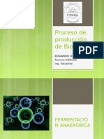 Proceso de producción de Biogás