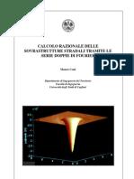 Calcolo Razionale Delle Sovrastrutture Stradali Tramite Le Serie Doppie Di Fourier