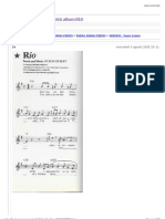 """DURAN DURAN FORUM - Spartiti album RIO"""""""