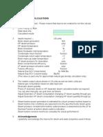 Natural Gas Boiler Calculations