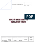 Copia de P-GC-014. INSPECCIÓN DE REVESTIMIENTO POR MEDIO DE HOLIDAY DETECTOR.rev01