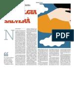 """la Repubblica - """"La nostalgia ci salverà"""""""