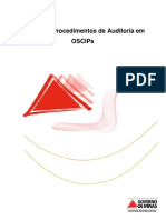 Manual de Procedimentos de Auditoria Em Oscips