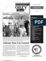 December 2011 Newsletter Going to Colombia