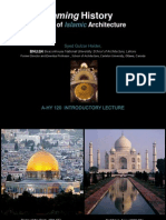 A-hy 120 Framing History- Islamic History Pp Lecture 1
