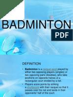 Badminton History, Rules, Techniques, etc..