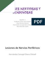 Lesiones Nerviosas y Tendinosas